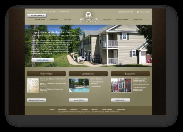 Waterford Village Website Design