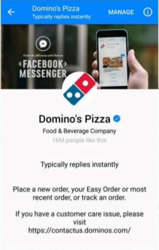Dominos App