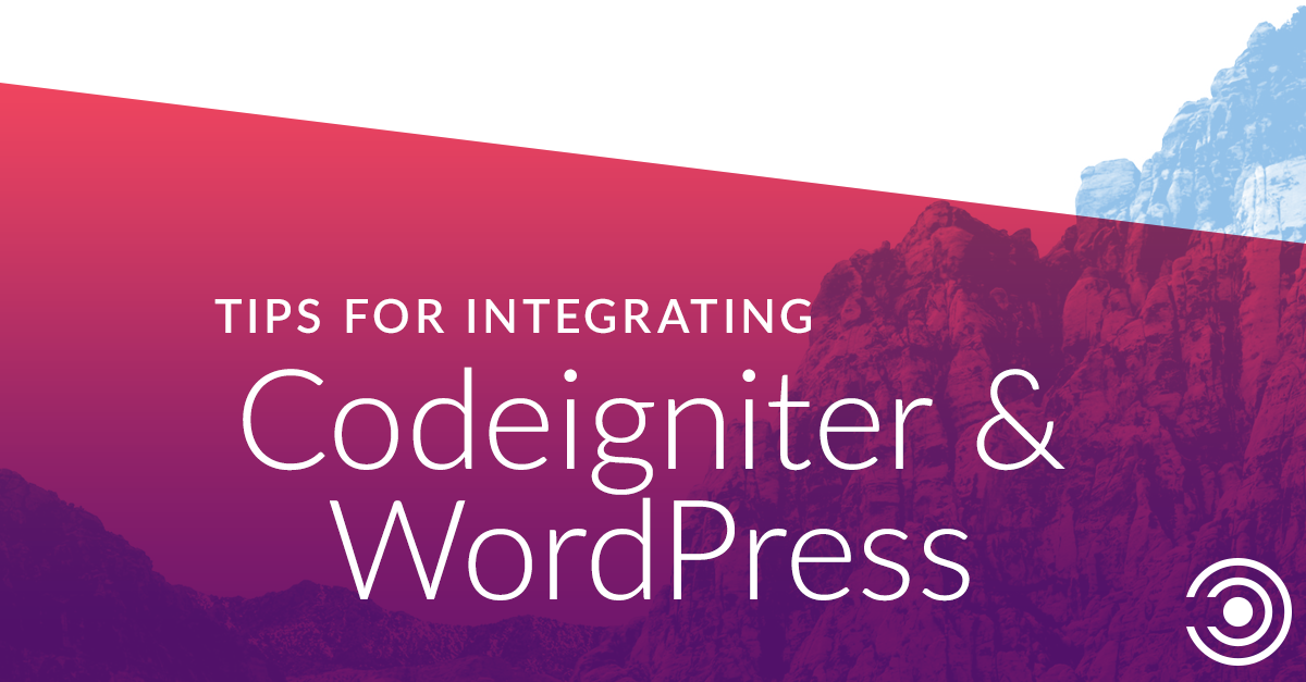 Website Development Tip for Techies: Integrating Codeigniter