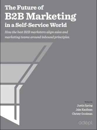 The Future of B2B Marketing in a Self-Service World