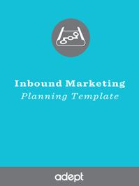 Inbound Marketing Campaign Planning Template
